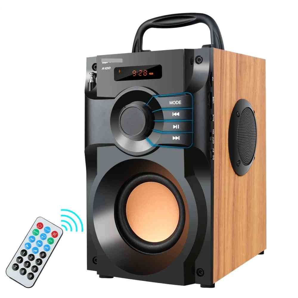 Portable Bluetooth Wireless Stereo Subwoofer Bass Speakers