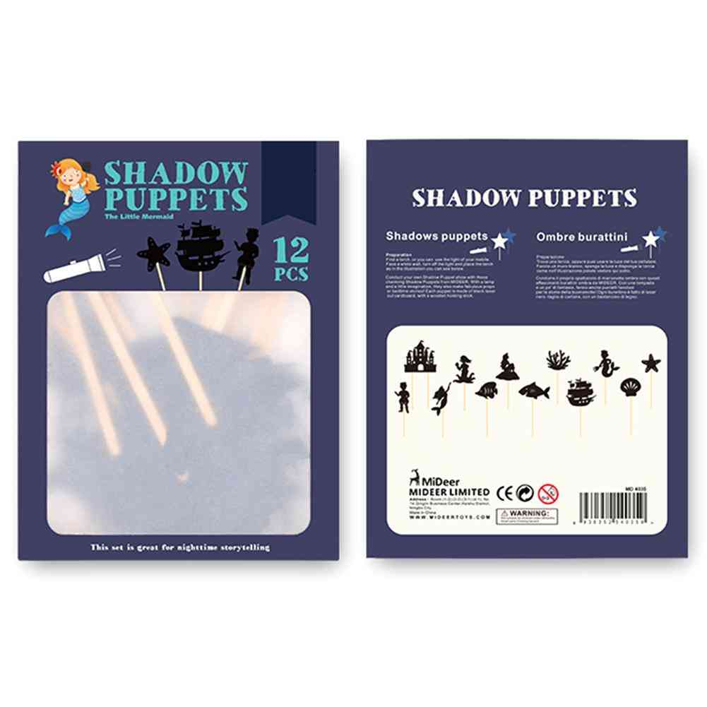 Children Shadow Puppets Toy - Interesting Educational Silhouette, Parent-child Interaction Cognition Game