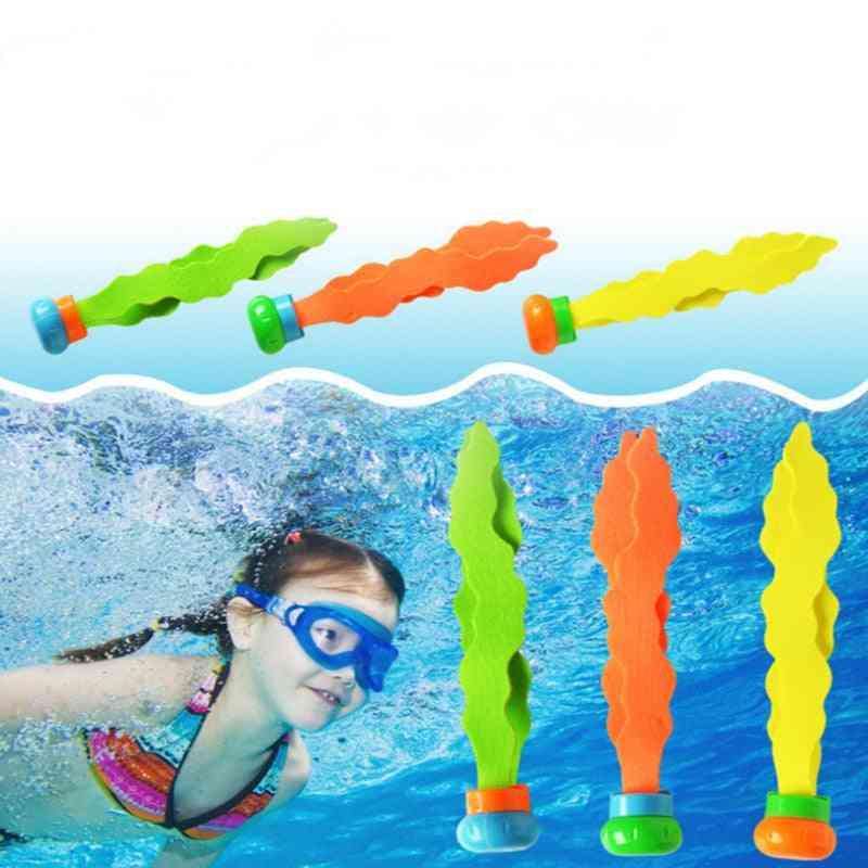 3pcs Seaweed Diving - Water Pool Game