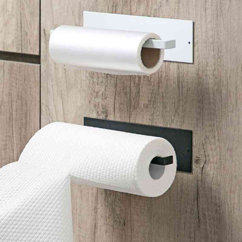Free Punch Self Adhesive - Towel  / Toilet Paper Roll Holder