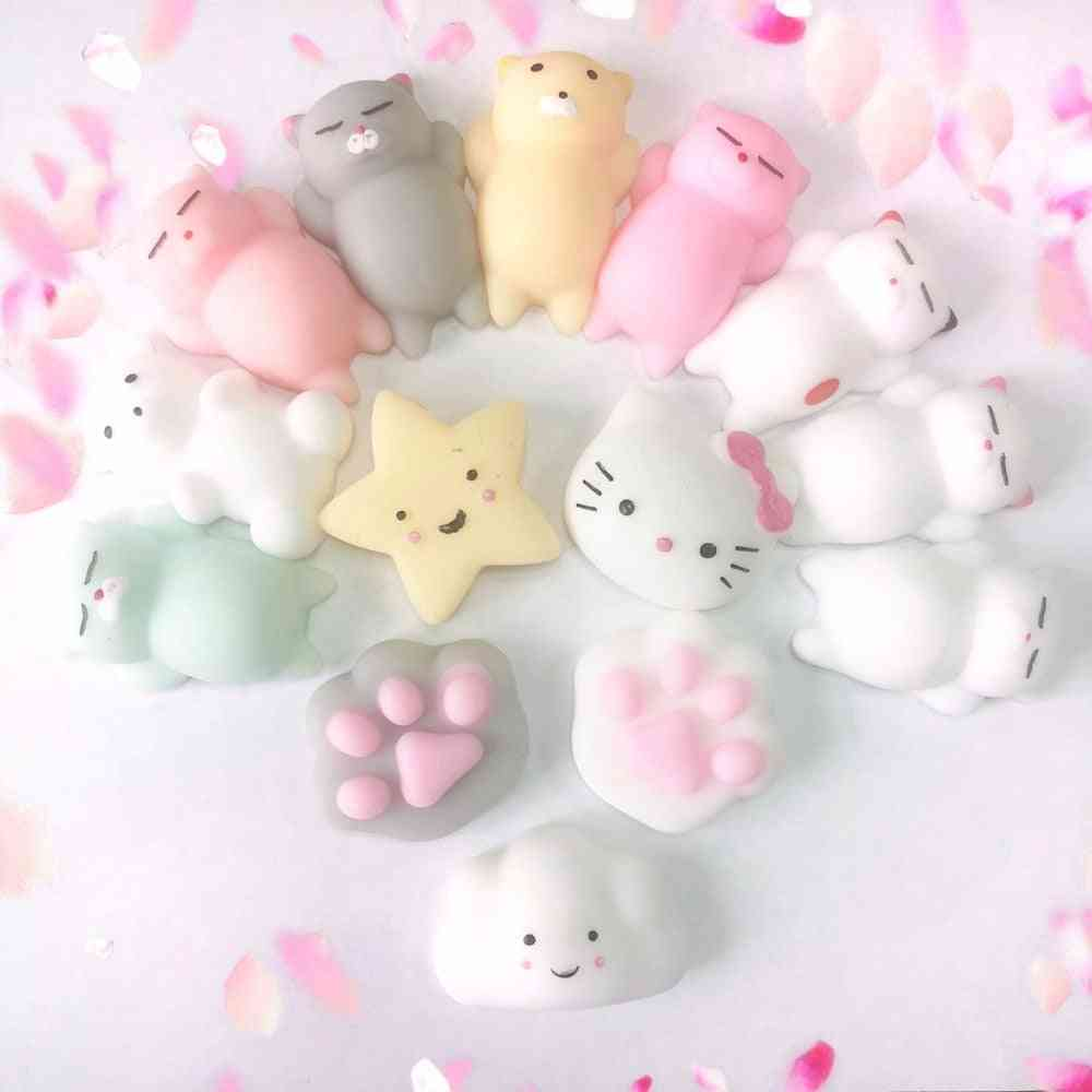 Mini Cute Stress Relief Animal Squeeze Mochi Rising Ball Toy