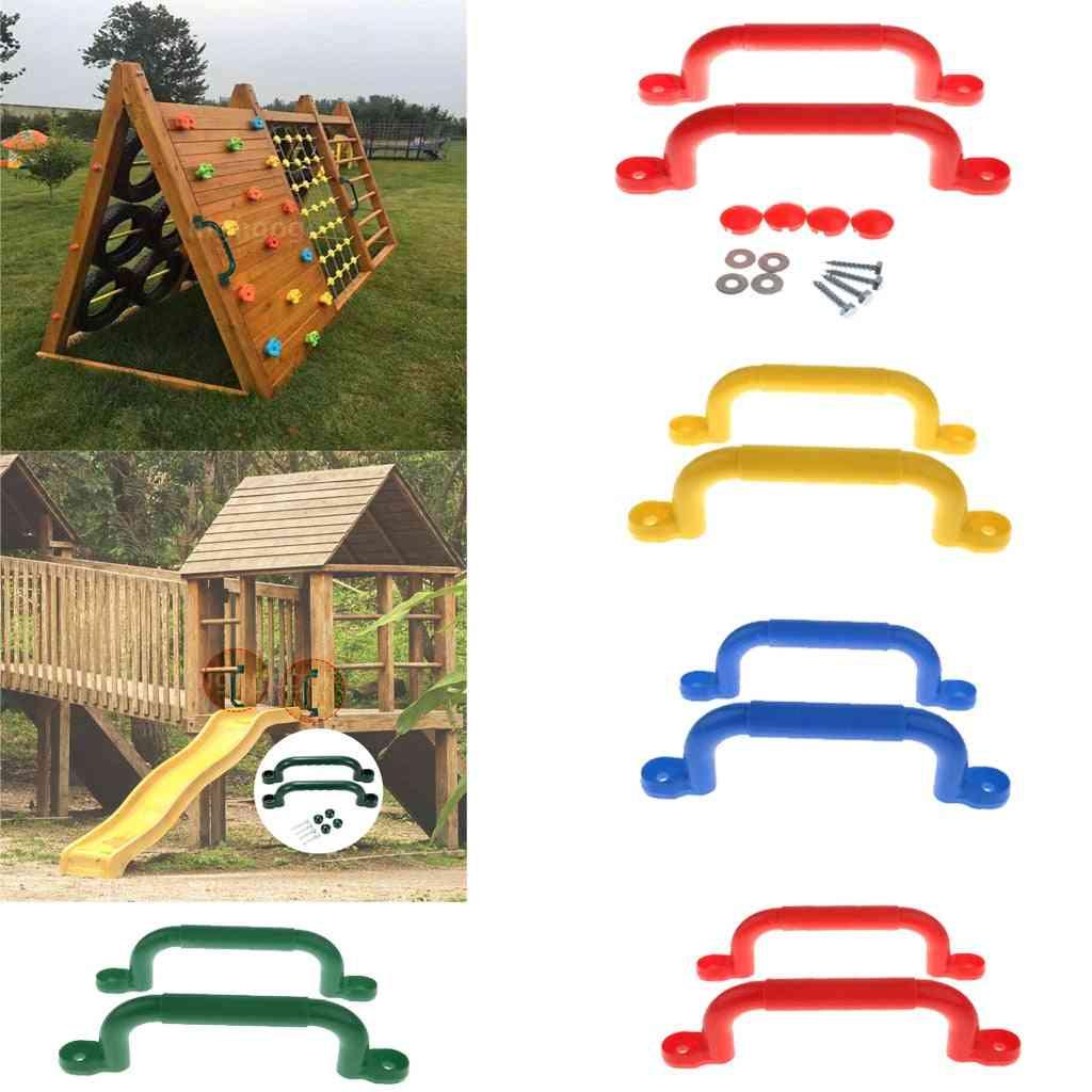 Nonslip Handle Hardware Kits For Playground Safety, Climbing Frame