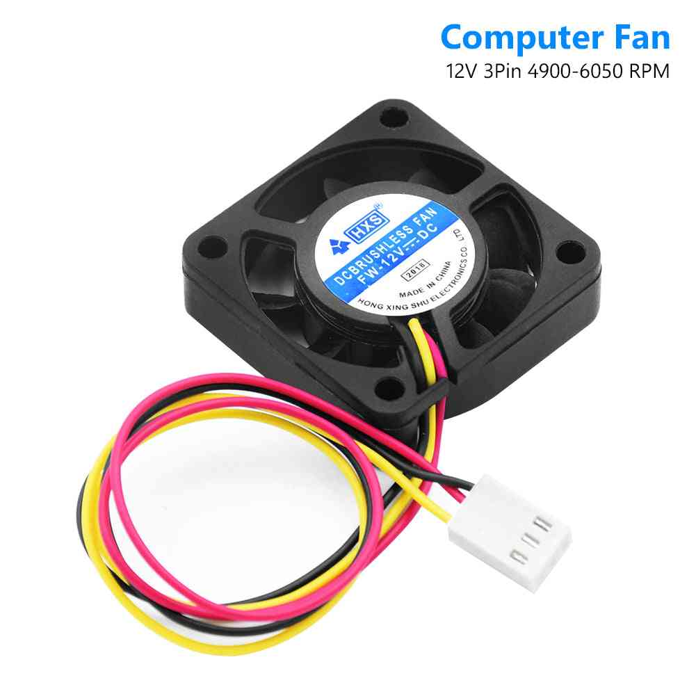 Portable Computer 40 X 40 X 10 Mm Fan-cooler 12v 4cm 40mm Pc-cpu Cooling Fan 3 Pin For Video-card