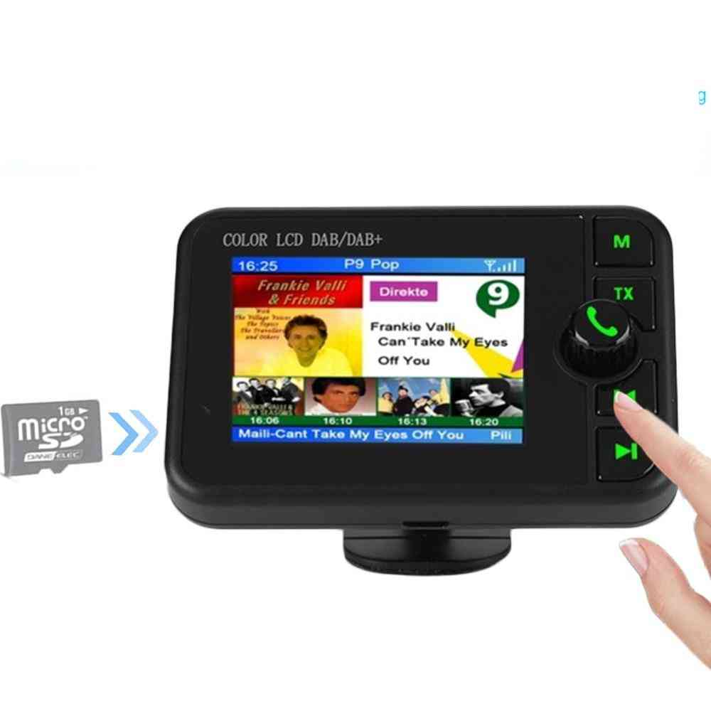 Fm Transmitter Adapter, Colorful Lcd Screen