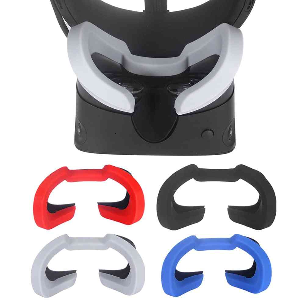 Oculus Rift S Soft Silicone Eye Mask Cover, Vr Headset Breathable Light Blocking Pad