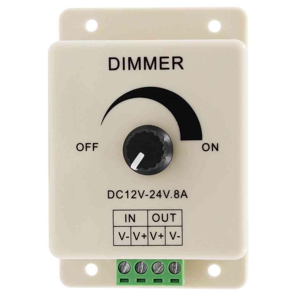 Dc 12v Led Light Protect Strip Dimmer With Adjustable Brightness Controller