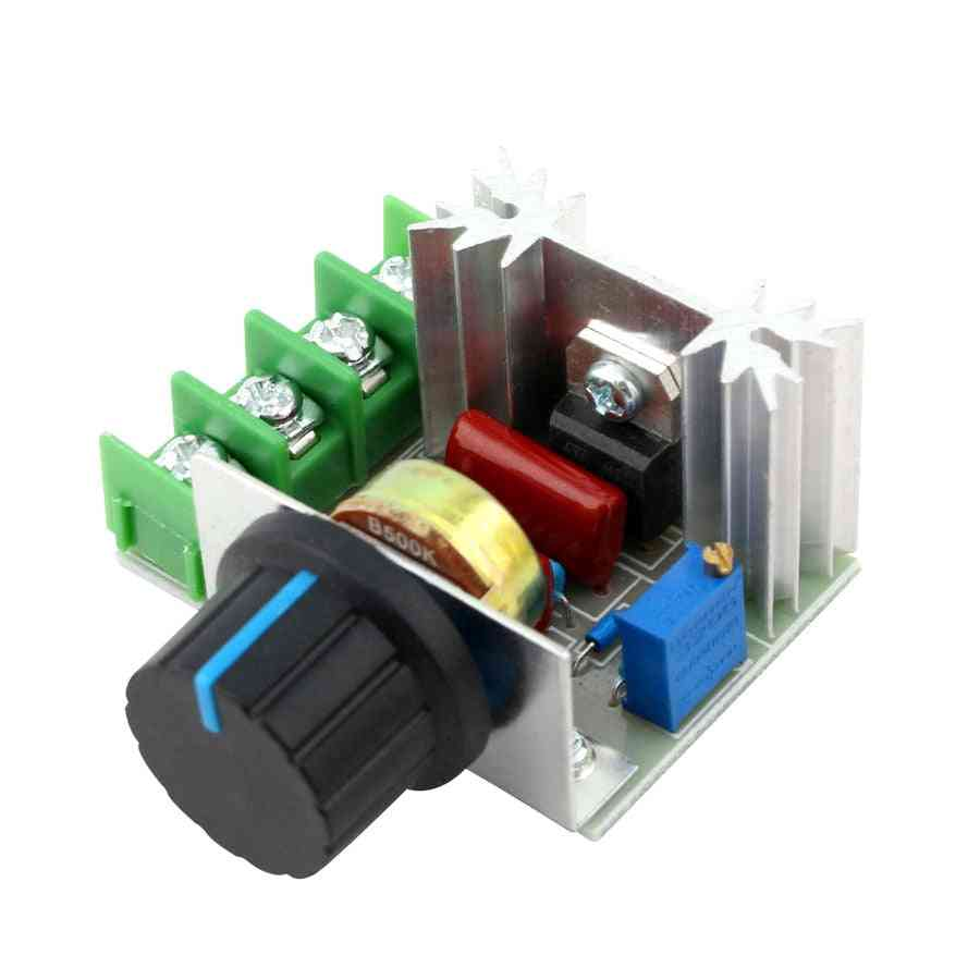 Speed Controller Switch - Scr Voltage Regulator Thermostat For Lamp