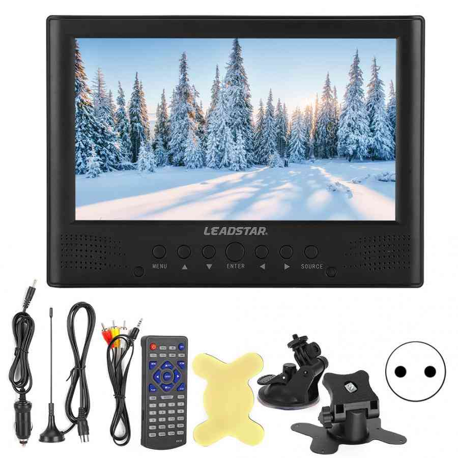 Digital Tv With Remote Controller - Car Led Portable Video Player