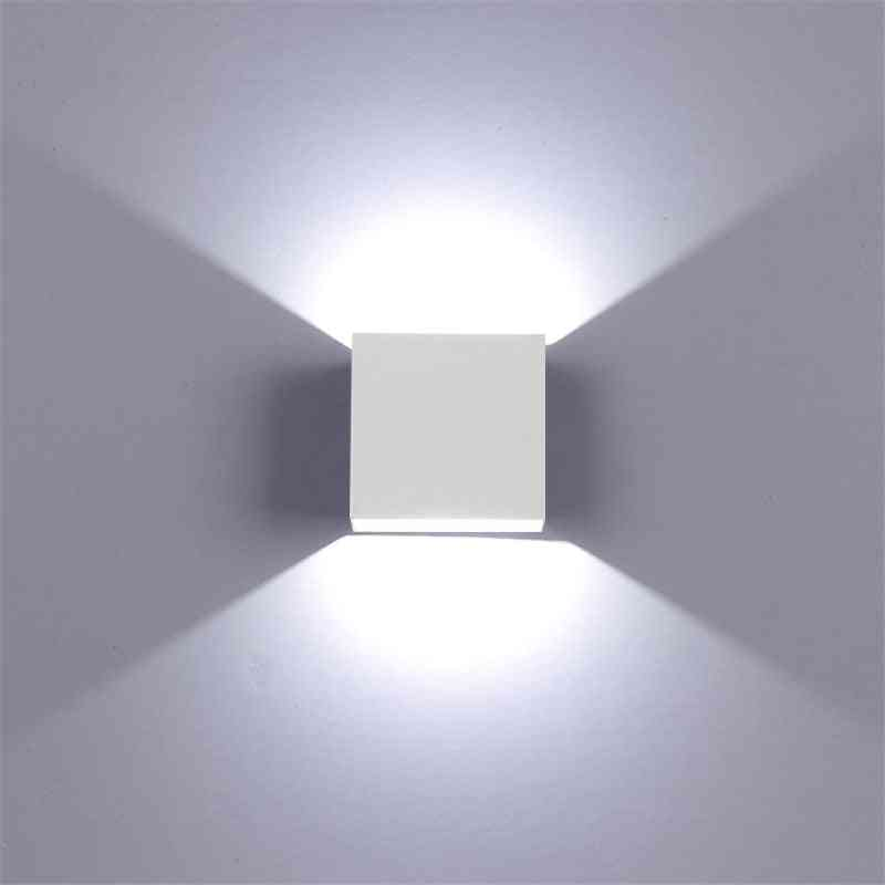 Led Wall Light Lamp Rail Project, Square Type For Home