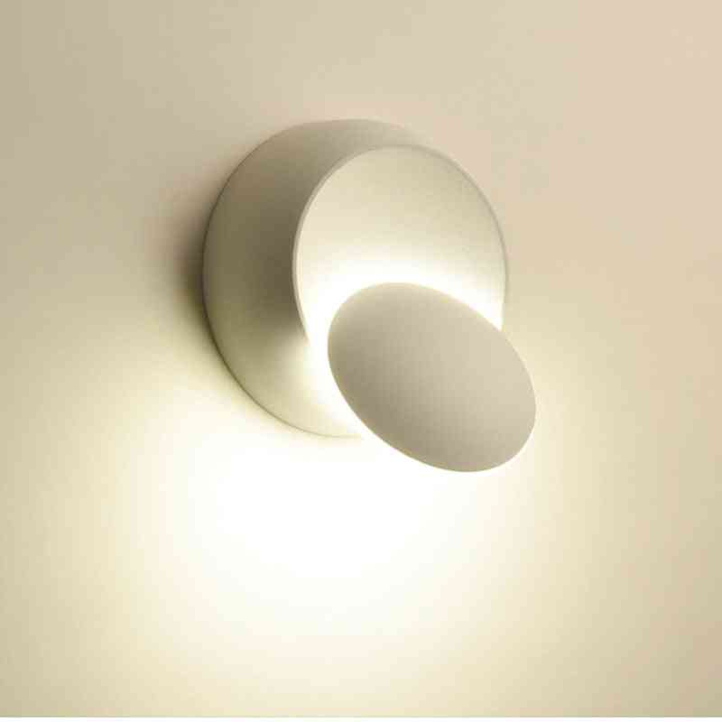 Aisle Round Wall Led Lamp With 360 Degree Rotation And Adjustable