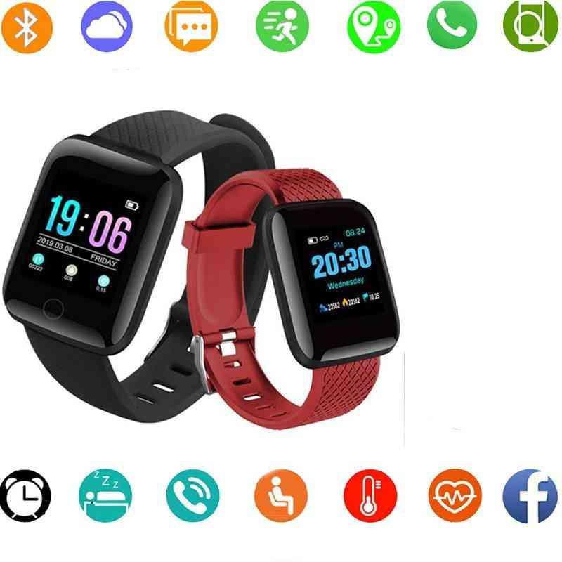 Men Smart Bracelet, Heart Rate/blood Pressure Monitoring Tracker Waterproof