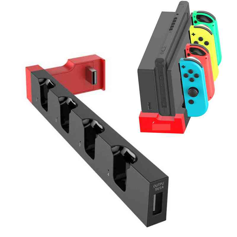 Joycon Controller Charger Dock Stand Station Holder For Nintendo Switch