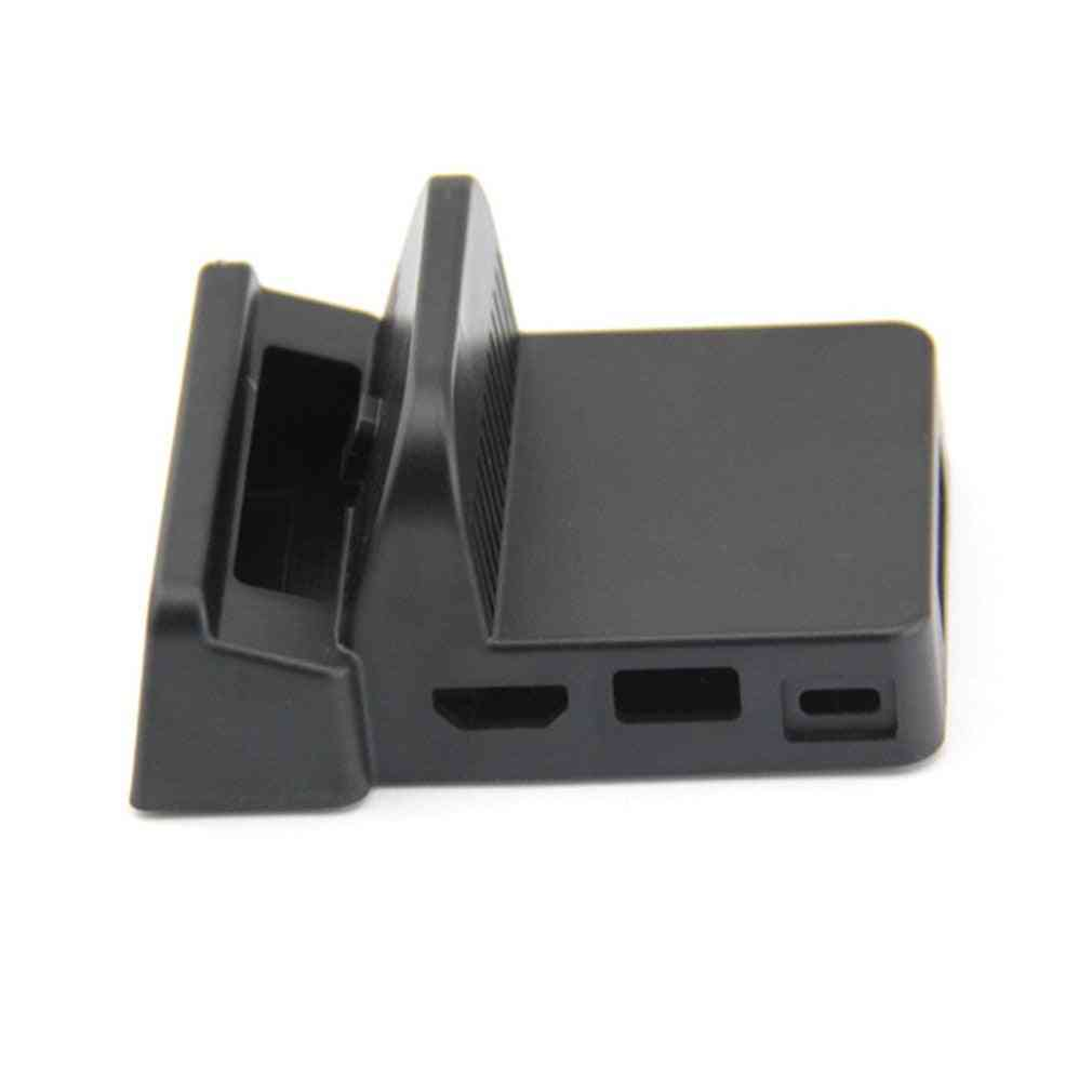 Mini Diy Replacement Dock Case For Nintendo Switch Docking Station Portable