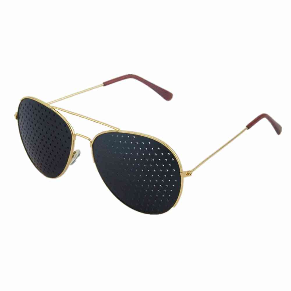 Anti-myopia, Pin Hole Sunglasses For Eye Exercise For Natural Healing