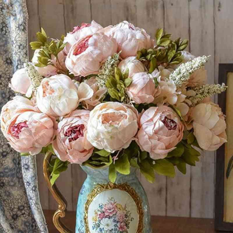 European Style, Artificial Flowers For Home, Wedding And Decoration