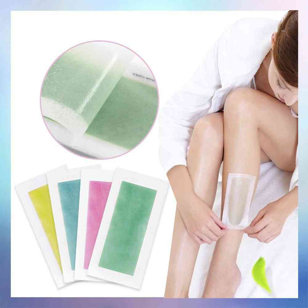 Natural Beeswax, Double Sided Hair Removal Wax Strips For All Body