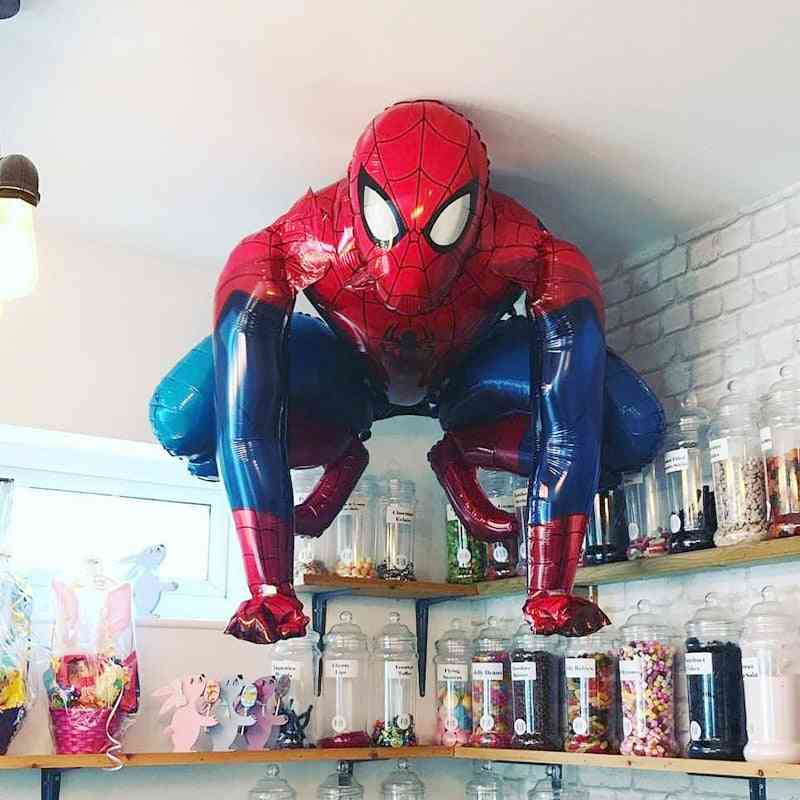 3d Spiderman Hero Aluminum Foil Balloons