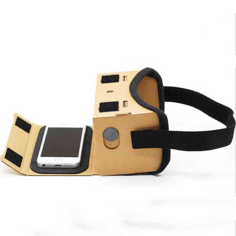 Google Cardboard 3d Glasses - Vr Movies Box