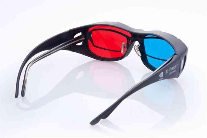 Universal Type 3d Glasses Cyan