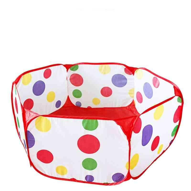 Tent Ball Pool With Basket Outdoor For