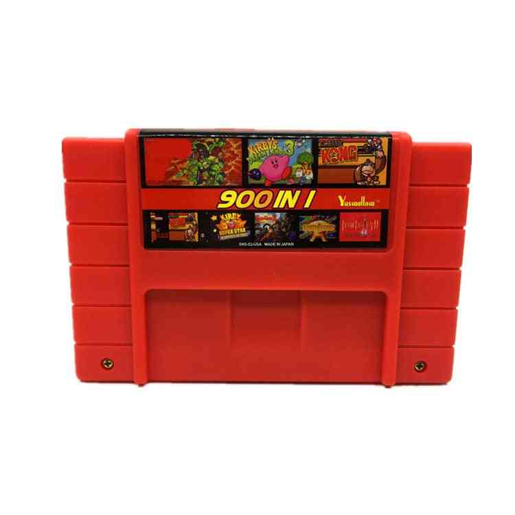 900 In 1 Super Remix, 16 Bit Game Card For Consoles
