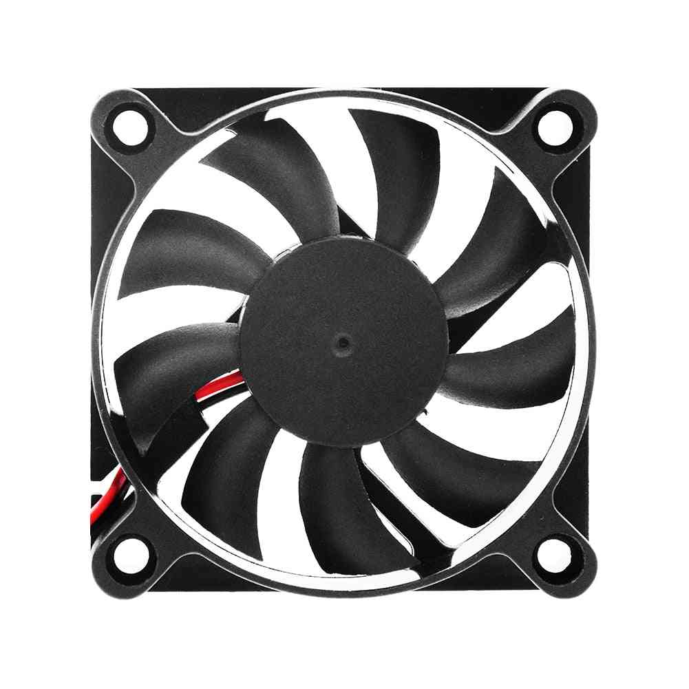 12v Dc Cooling Fan For  Computer Pc With Diametre 60 X 60 X 12mm And 2 Pins