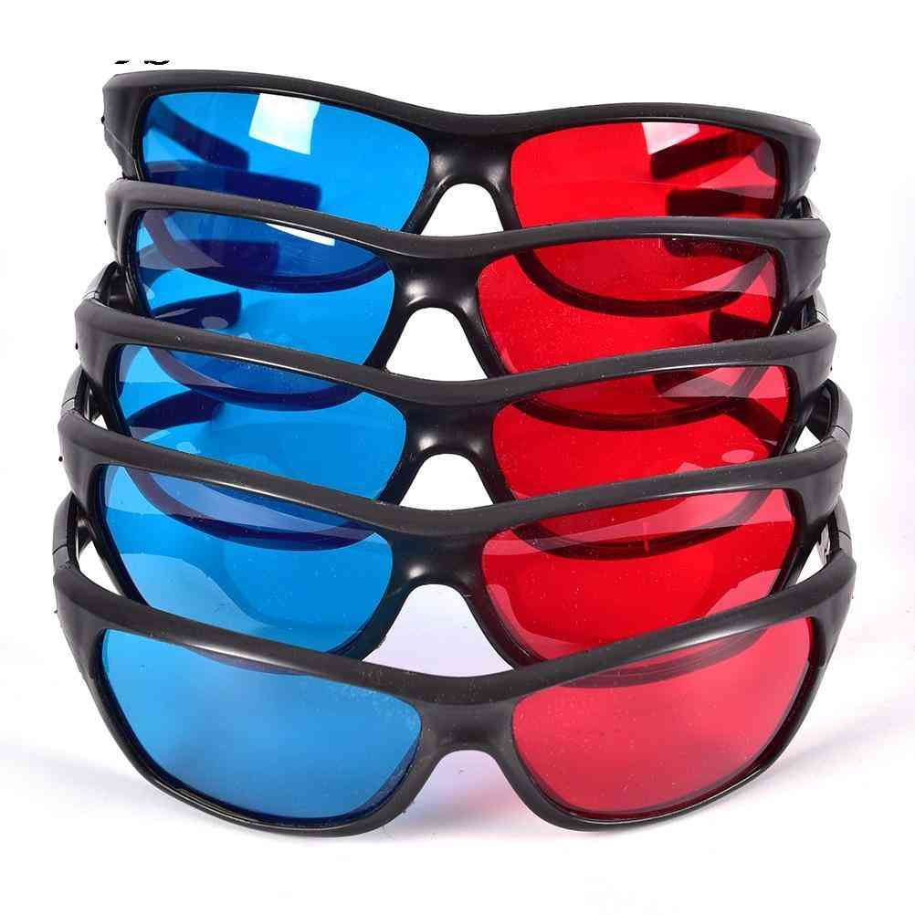 3d Glasses For Dimensional Anaglyph Movie/game