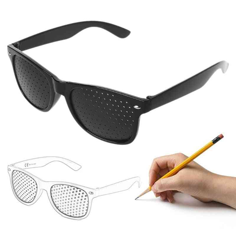 Vision Care Ophthalmology Correction Enhancer Glasses, Anti-fatigue Glasses Pc Screen Laptop Eye Protection (black)