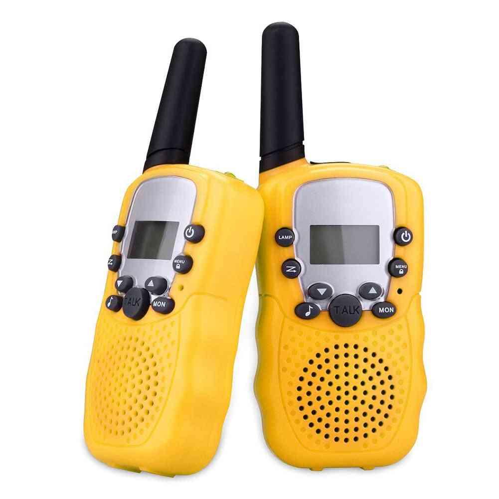 Walkie Talkies Toy For - Two Way Radio Uhf Long Range Handheld Transceiver