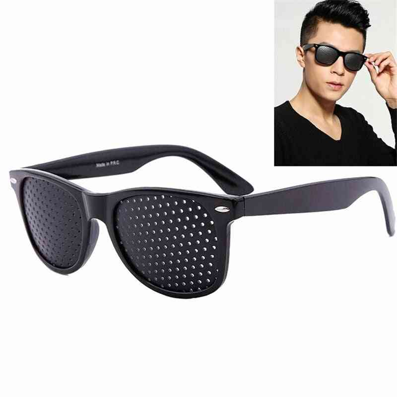 Vision Care Wearable Corrective, Improver Stenopeic Pinhole Pin Hole Glasses- Anti Fatigue Eye Protection Oculos De Grau