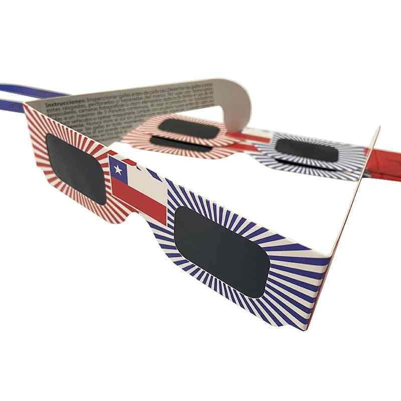 Paper Solar Eclipse Glasses For Viewing