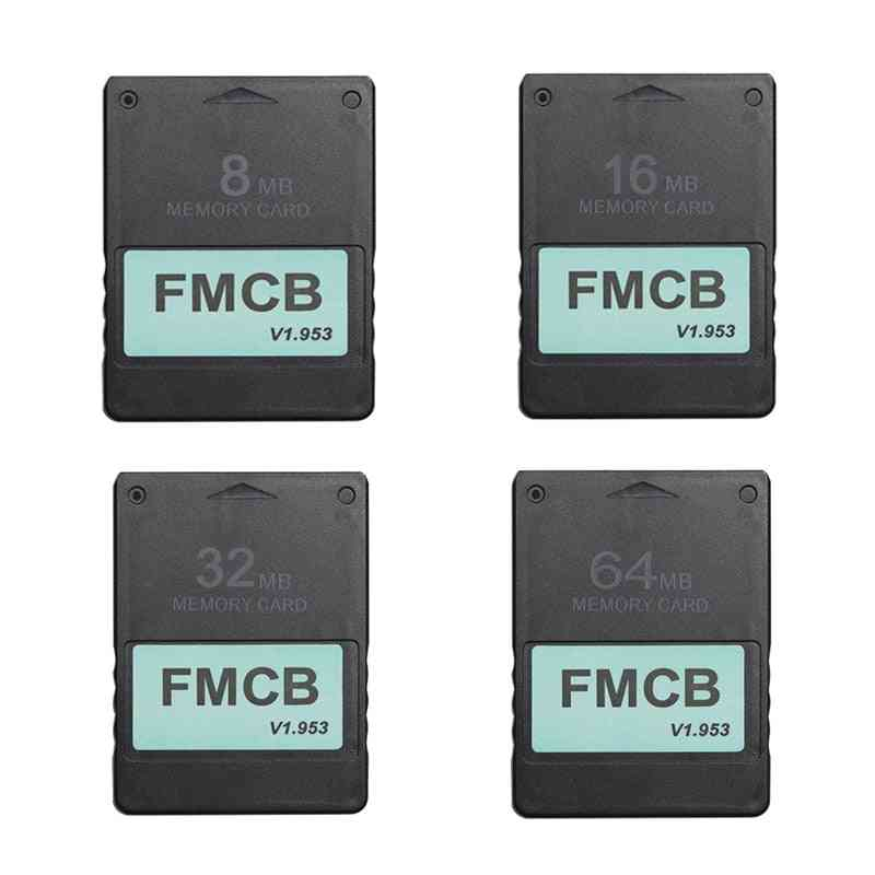 Fmcb Free Mcboot-card For Sony Ps2 For Playstation2 8mb/16mb/32mb/64mb Memory-card V1.953 Opl/mc Boot