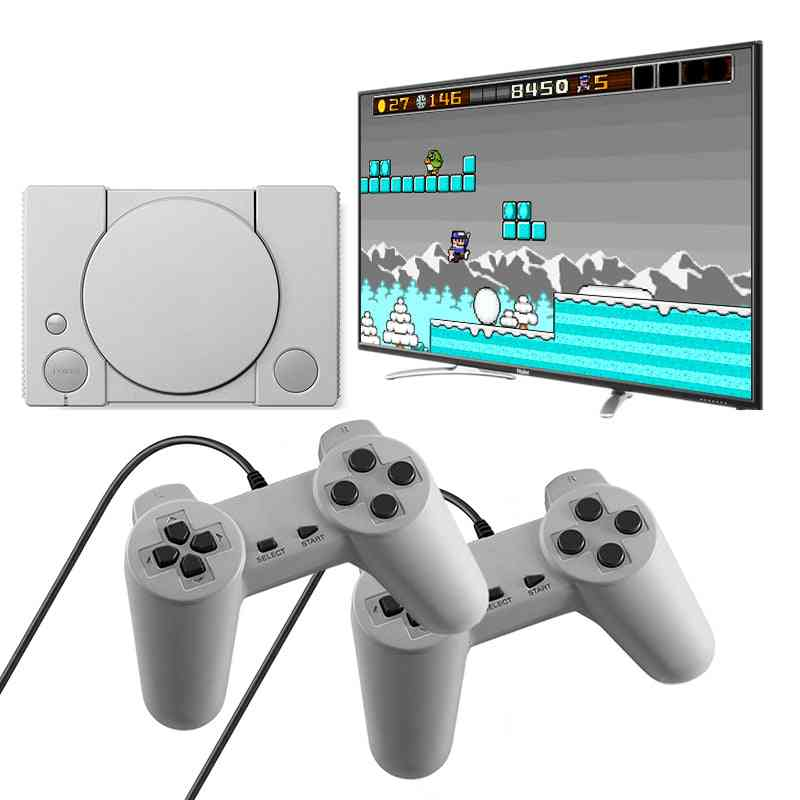 620 Retro Video Games Console Duble Gamepad With 8-bit Support Av Out Put Family-tv Video-game  (mini 620)