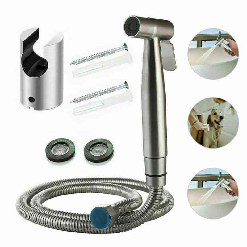 Stainless Steel-handheld Toilet Sprayer Set