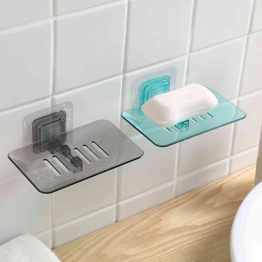 Wall-mounted, Hollow-design, Crystal Soap Dish