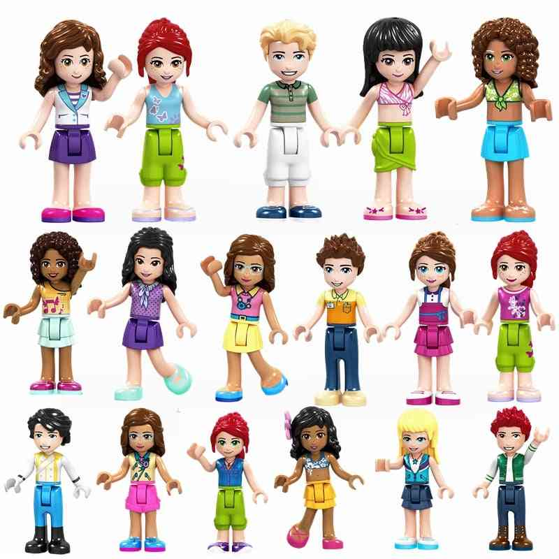 Friend Princess Series For-self-locking Building Blocks Cmpatible With Lego