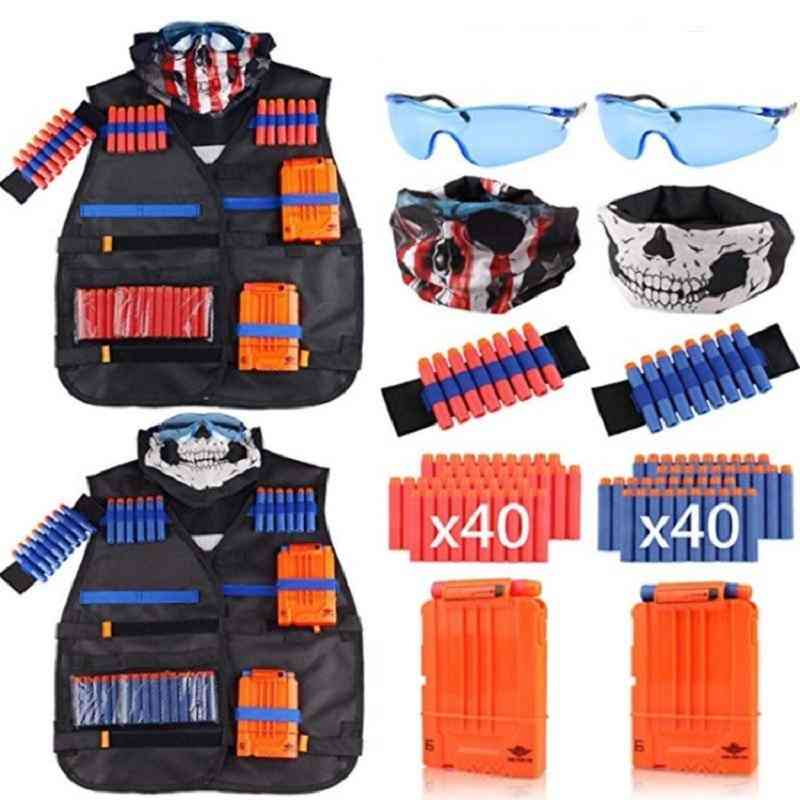 Waistcoat Set, Ammo Holder Elite Pistol Bullets Toy