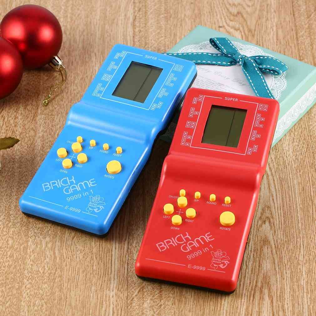 Classic Hand Held, Lcd Electronic Toy - Tetris Brick Game