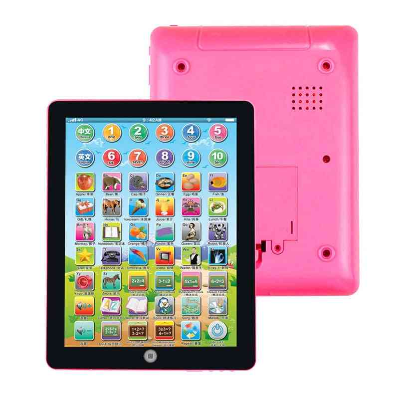Kids Computer Tablet, Chinese & English Learning, Study Machine