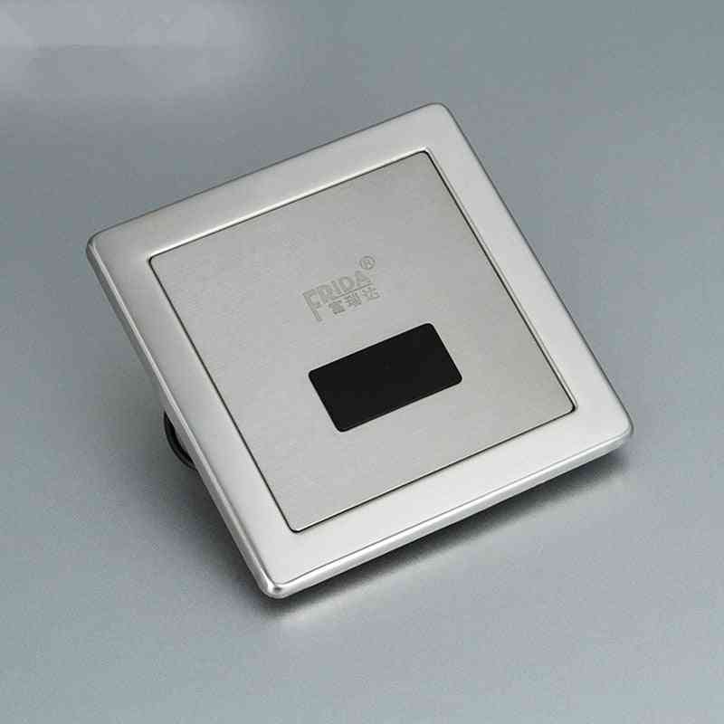 Stainless Steel, Automatic Toilet Flush Valve - Sensor Sanitary Wares