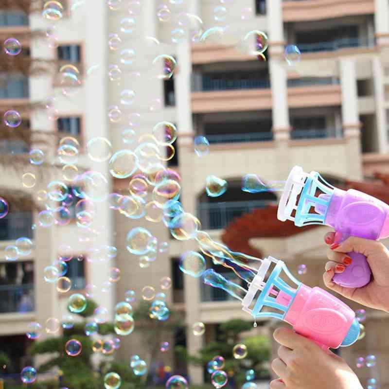 Bubble Blower Machine Toy Gun- Soap Water