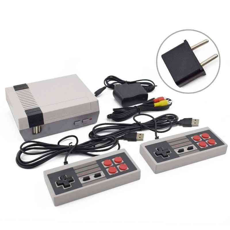 Dual Control 8-bit Console Handheld Game Player For Family Tv Video