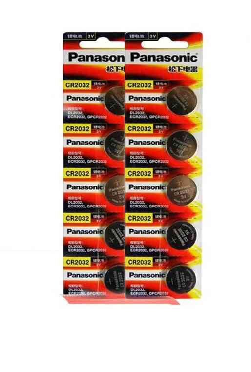 10pcs/lot 3v, 220mah Lithium Button Battery