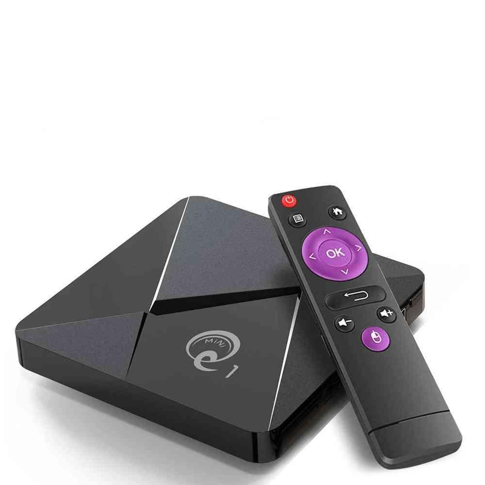 Q1 Mini Smart Tv Box Andriod 9.0, Quad Core 2.4ghz Wifi 4k Google Play Android
