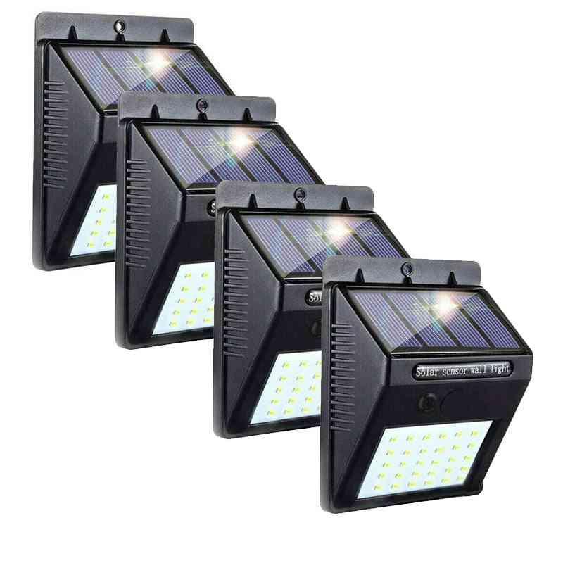 Wireless Sensored Led Solar Wall Light For Outdoors