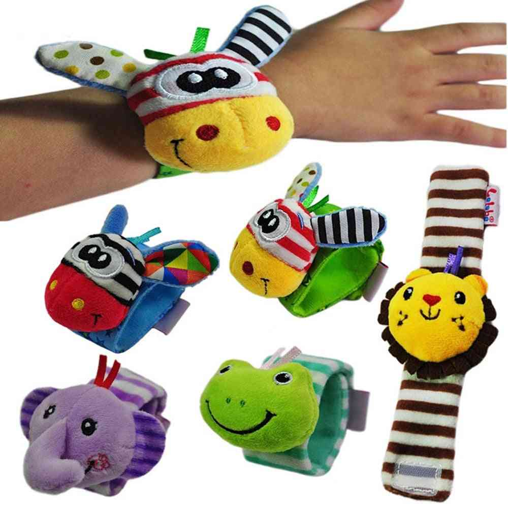 Cute Animal Baby Infant Rattles For Baby - Educational Mobiles Handbell For Kids