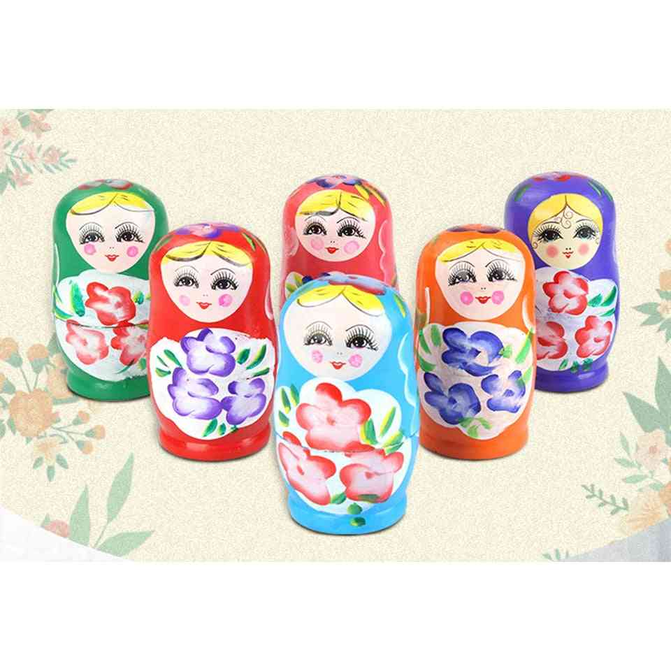 Basswood Creative Nesting - Traditional Feature Ethnic Style Diy Dolls