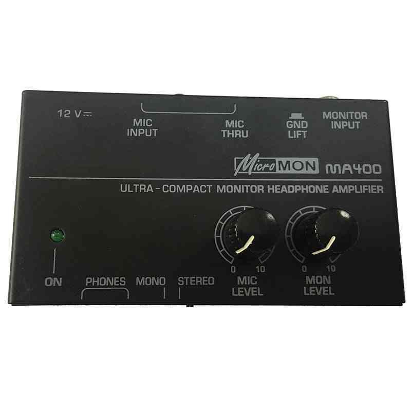 Ma400 Headphone, Preamplifier Microphone (eu Plug)