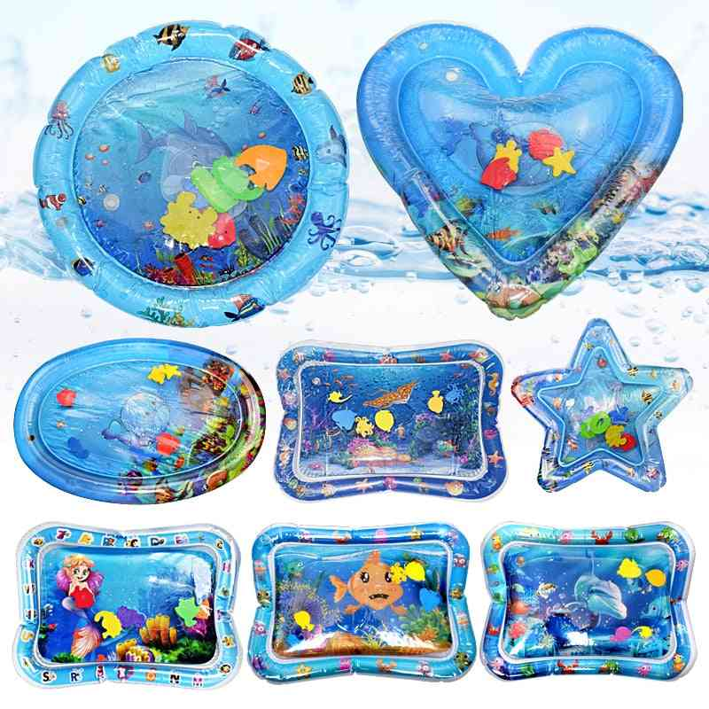Multifunction Inflatable Water Play Mat-toddler Activity Stimulation Cushion