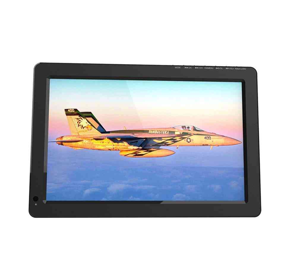 Portable Display For Car Hd Player, 2000mah Battery-support Pvr